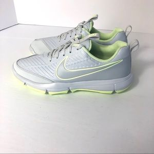 New Nike Golf Comfort Athletic Sneakers Pewter. 6